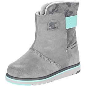 Sorel Rylee Boots Children grey/turquoise